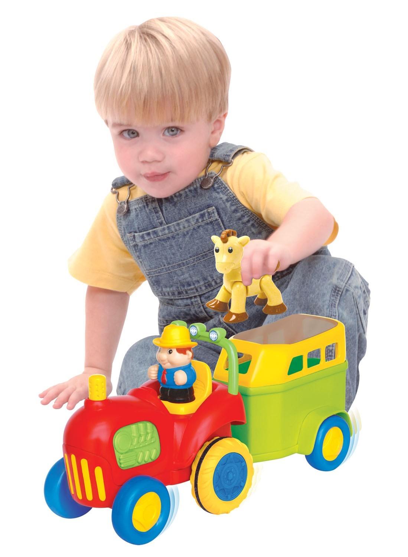 Kiddieland 038224 Traktor z konikiem