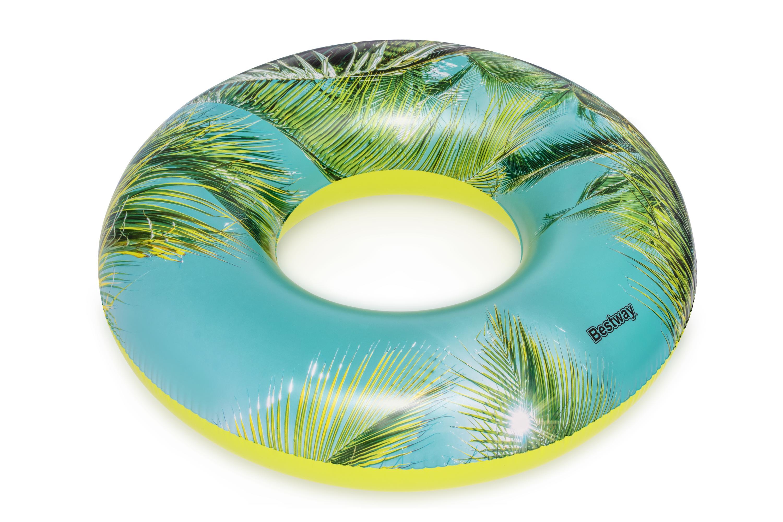 Bestway 36239 ujumisrõngas- palm 119cm BLUE