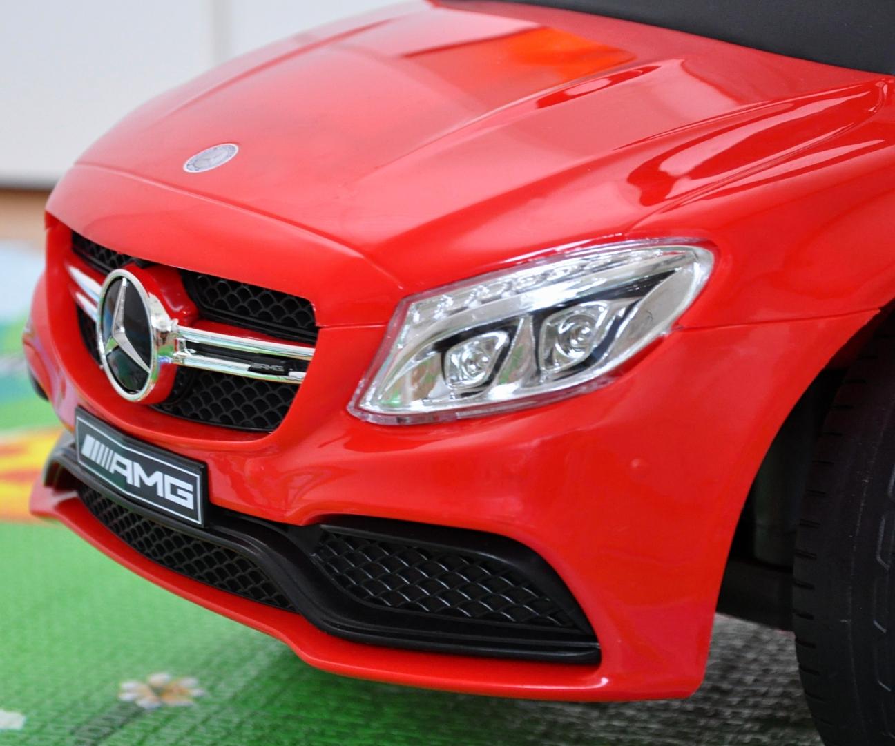 Pealeistutav auto MERCEDES-AMG C63 Coupe Red S
