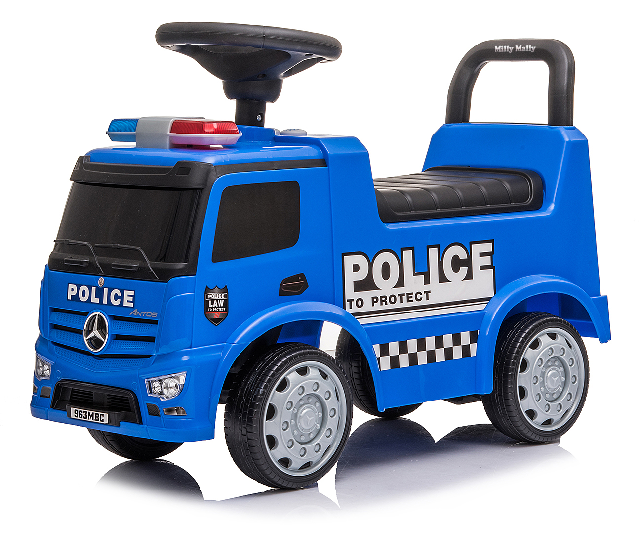 Pojazd MERCEDES ANTOS - POLICE TRUCK