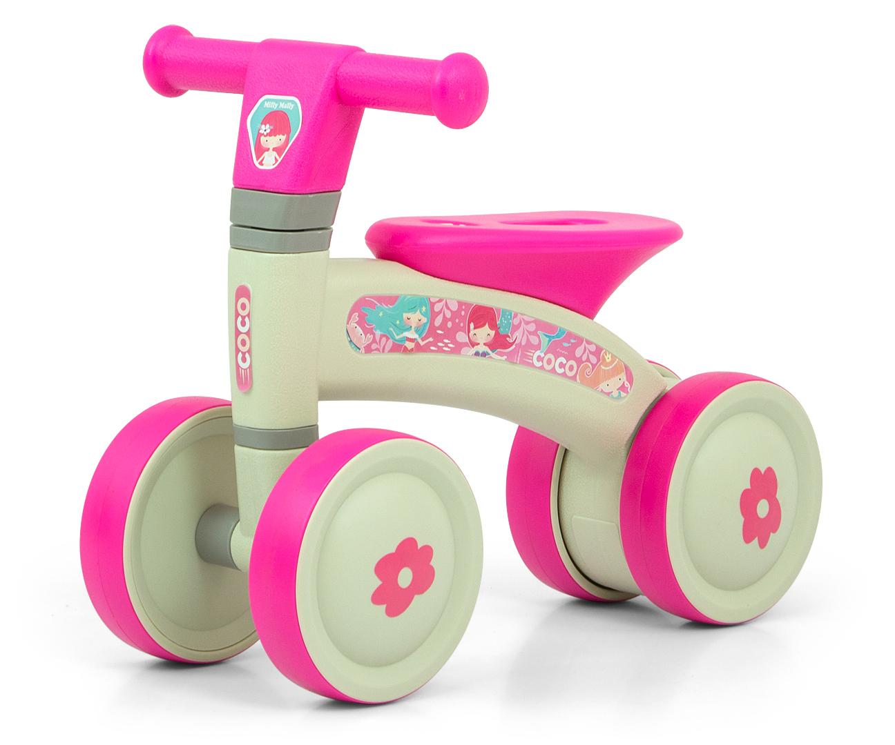 Pealeistutav sõiduk Coco Pink