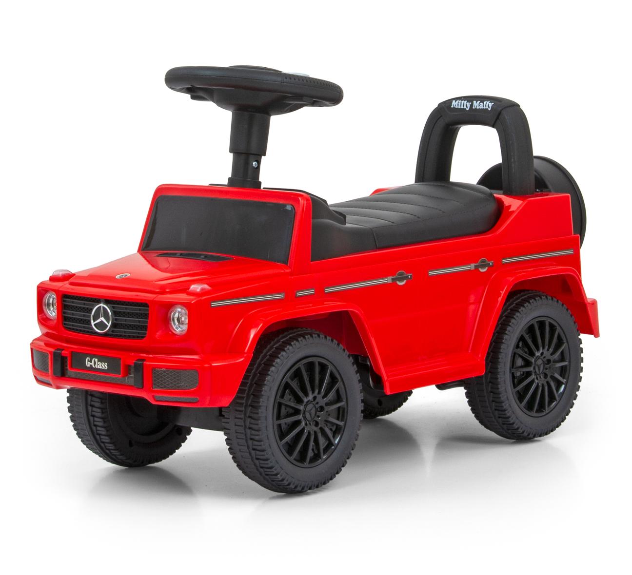 Pealeistutav auto MERCEDES G350d Red S