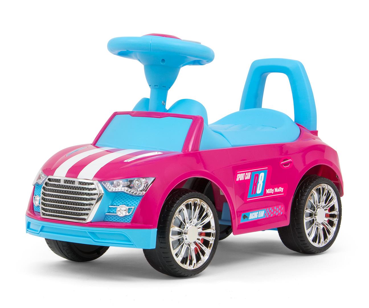 Pealeistutav sõiduk Racer Pink-Blue