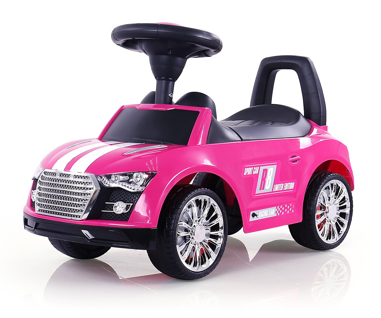 Milly Mally pealeistutav auto Pink