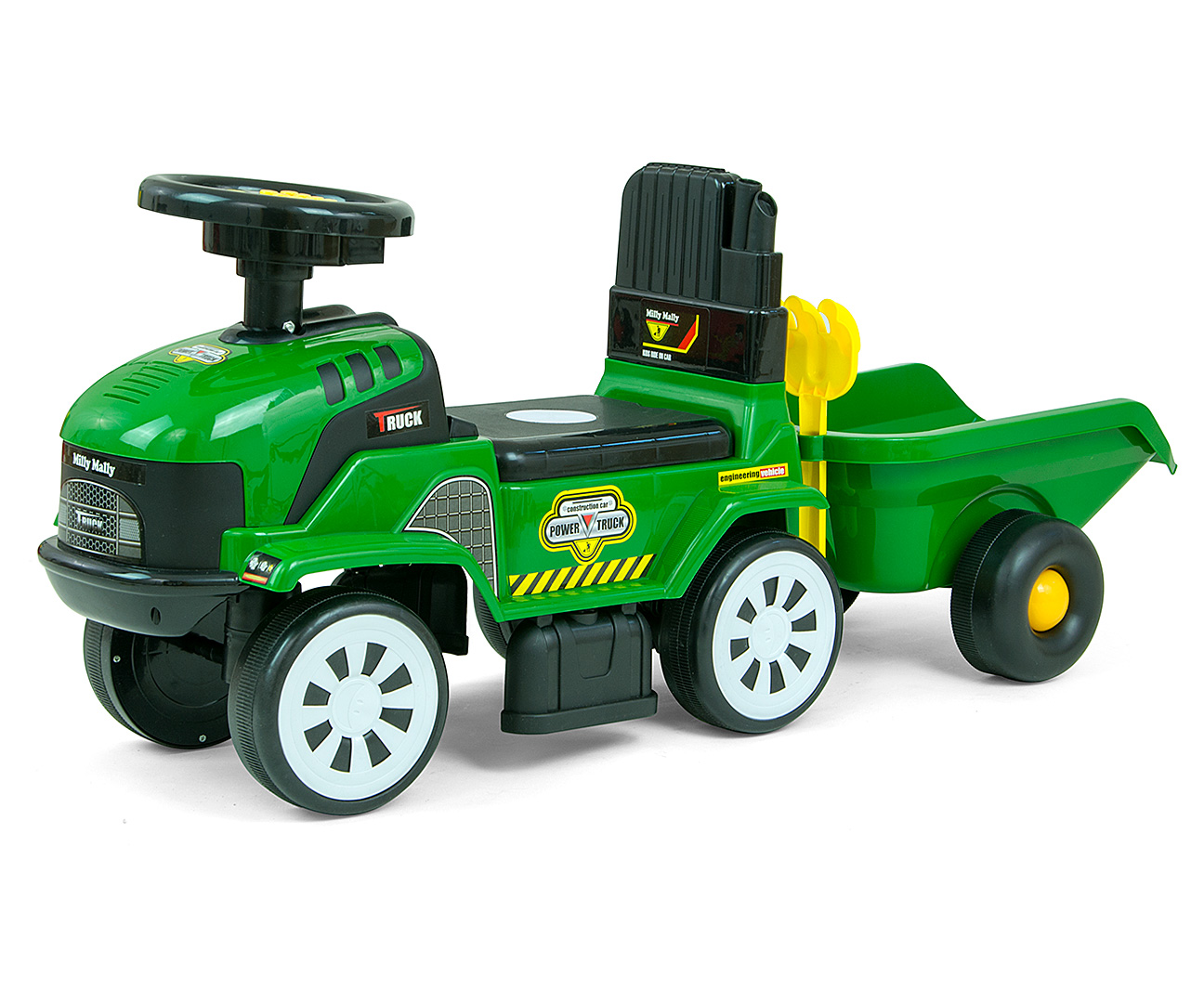 Pealeistutav sõiduk Rolly Plus Green