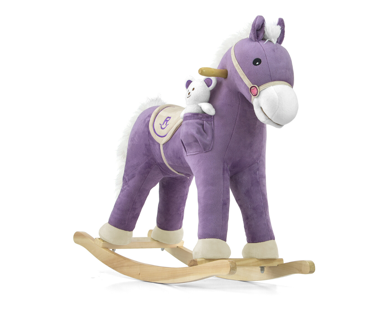 Milly Mally kiikhobune Pony Purple