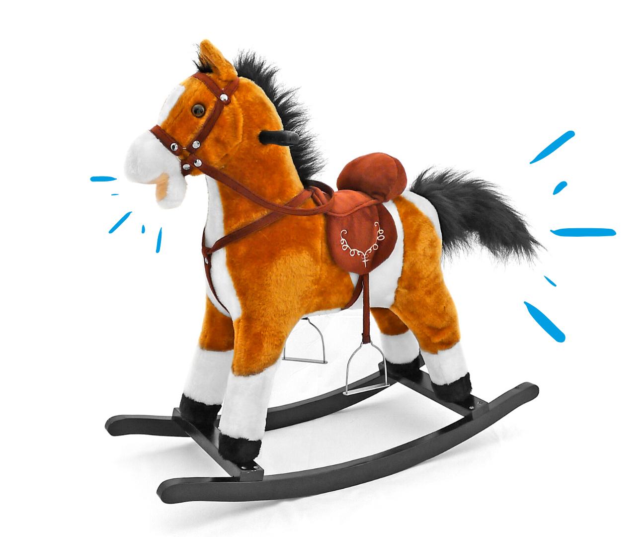 Milly Mally kiikhobune Mustang Light Brown