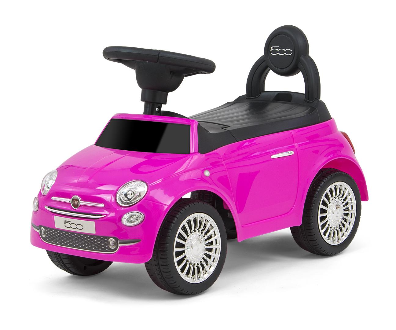 Pealeistutav auto Fiat 500 Pink