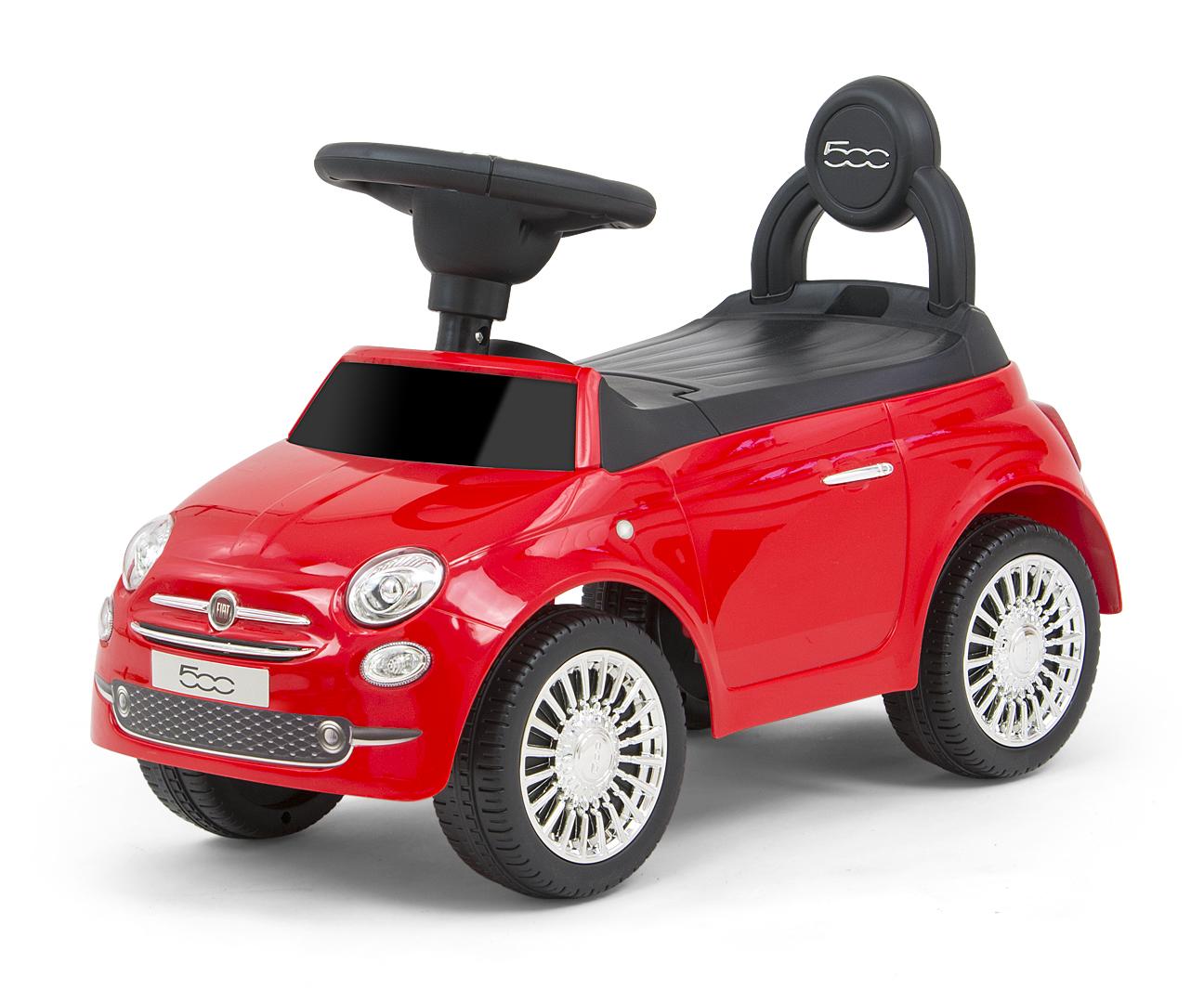 Pealeistutav auto Fiat 500 Red