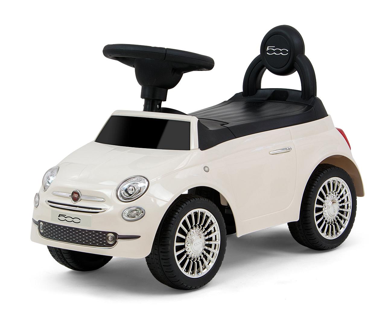 Pealeistutav auto Fiat 500 White