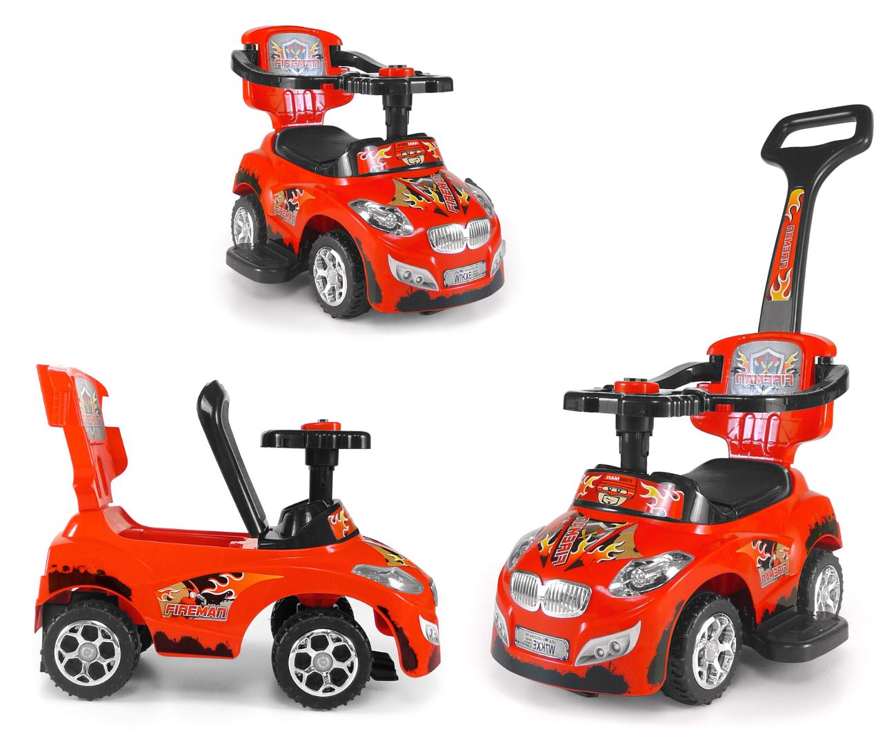 Milly Mally pealeistutav sõiduk Happy Red