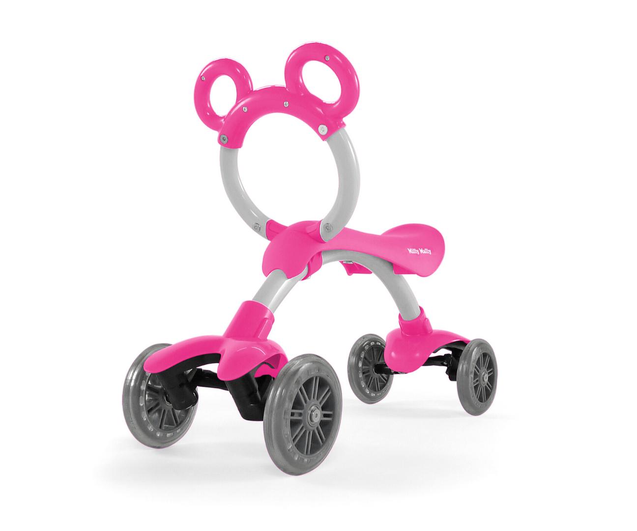 Milly Mally pealeistutav sõiduk Orion Flash Pink