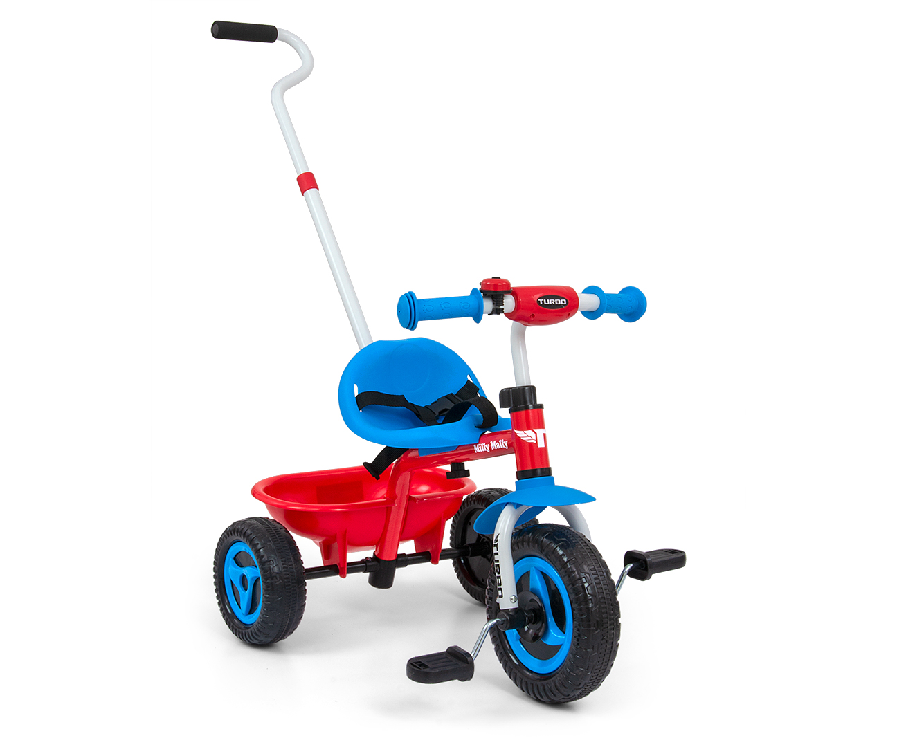 Kolmerattaline Turbo Cool Red