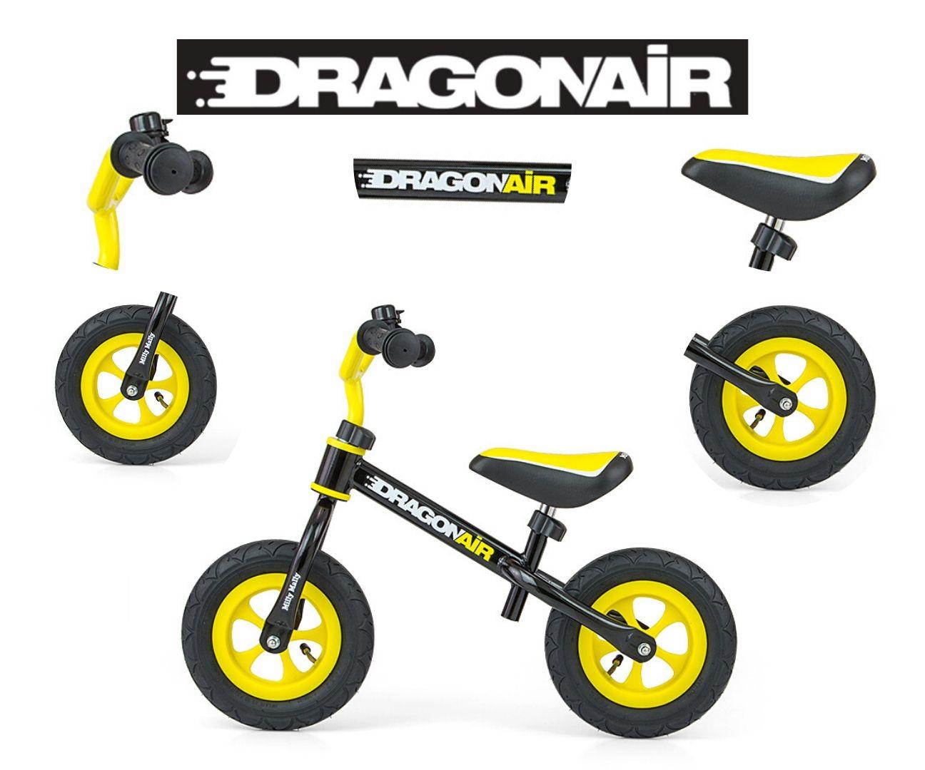 Milly Mally jooksuratas Dragon Air Black