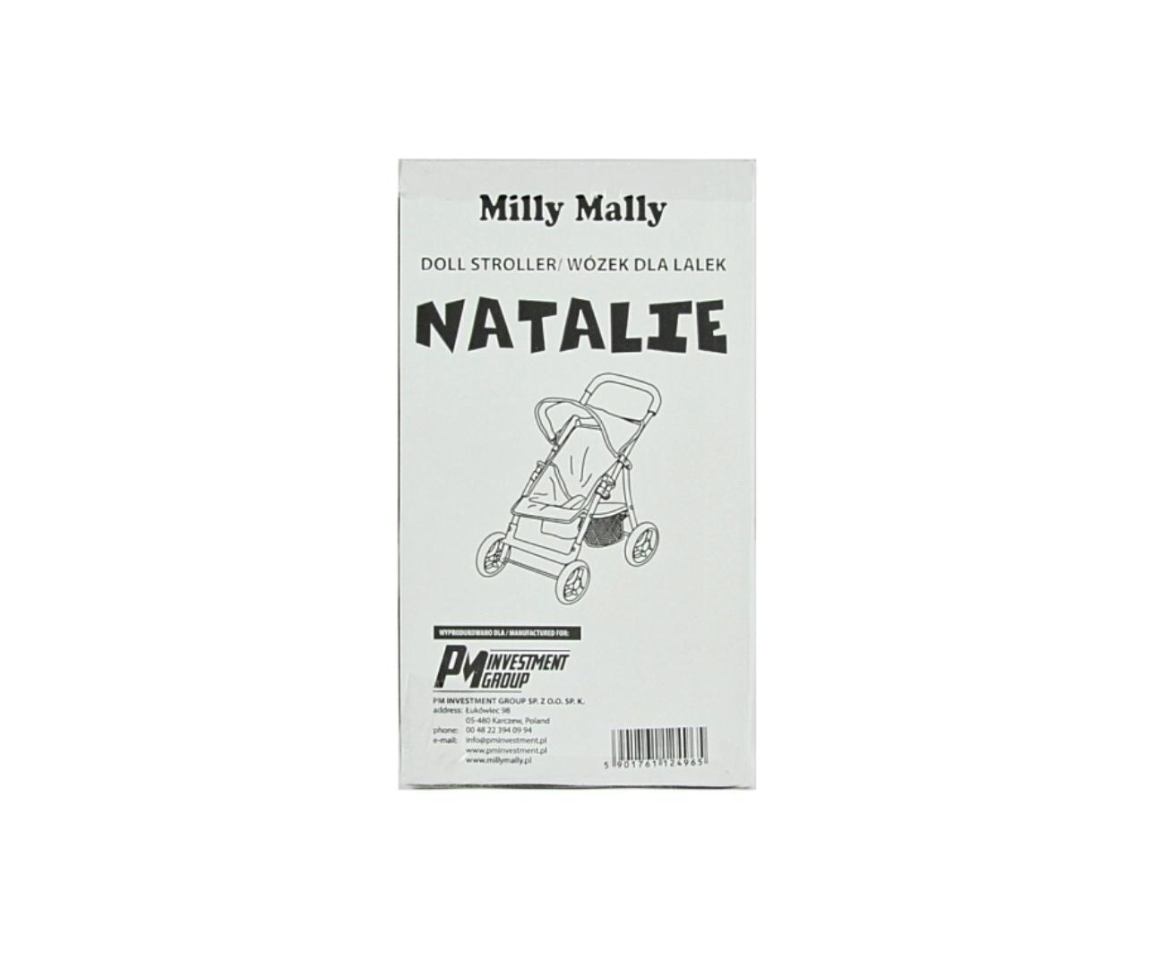 Nuku jalutuskäru Natalie Prestige Mint
