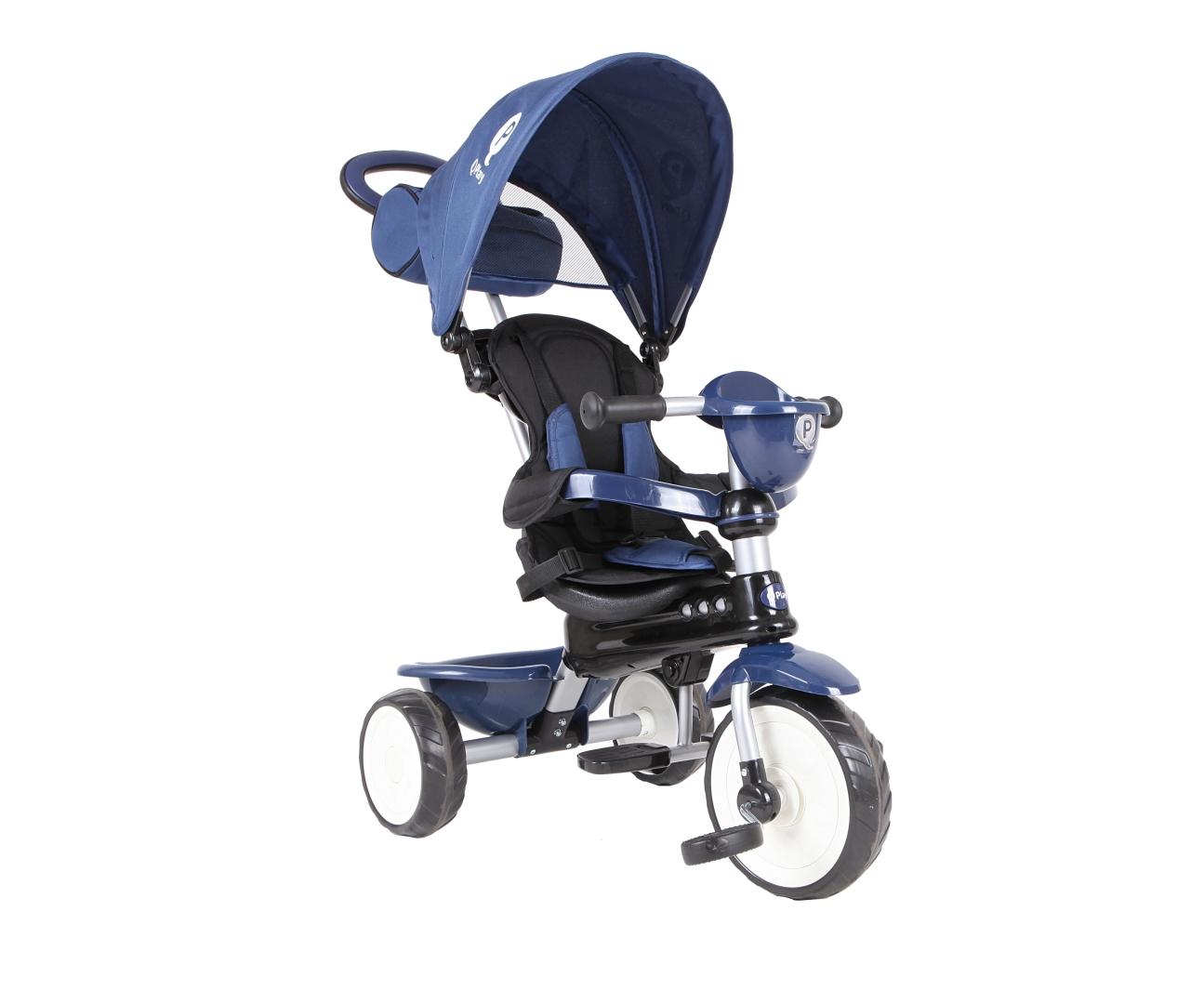Qplay Kolmerattaline Comfort Blue