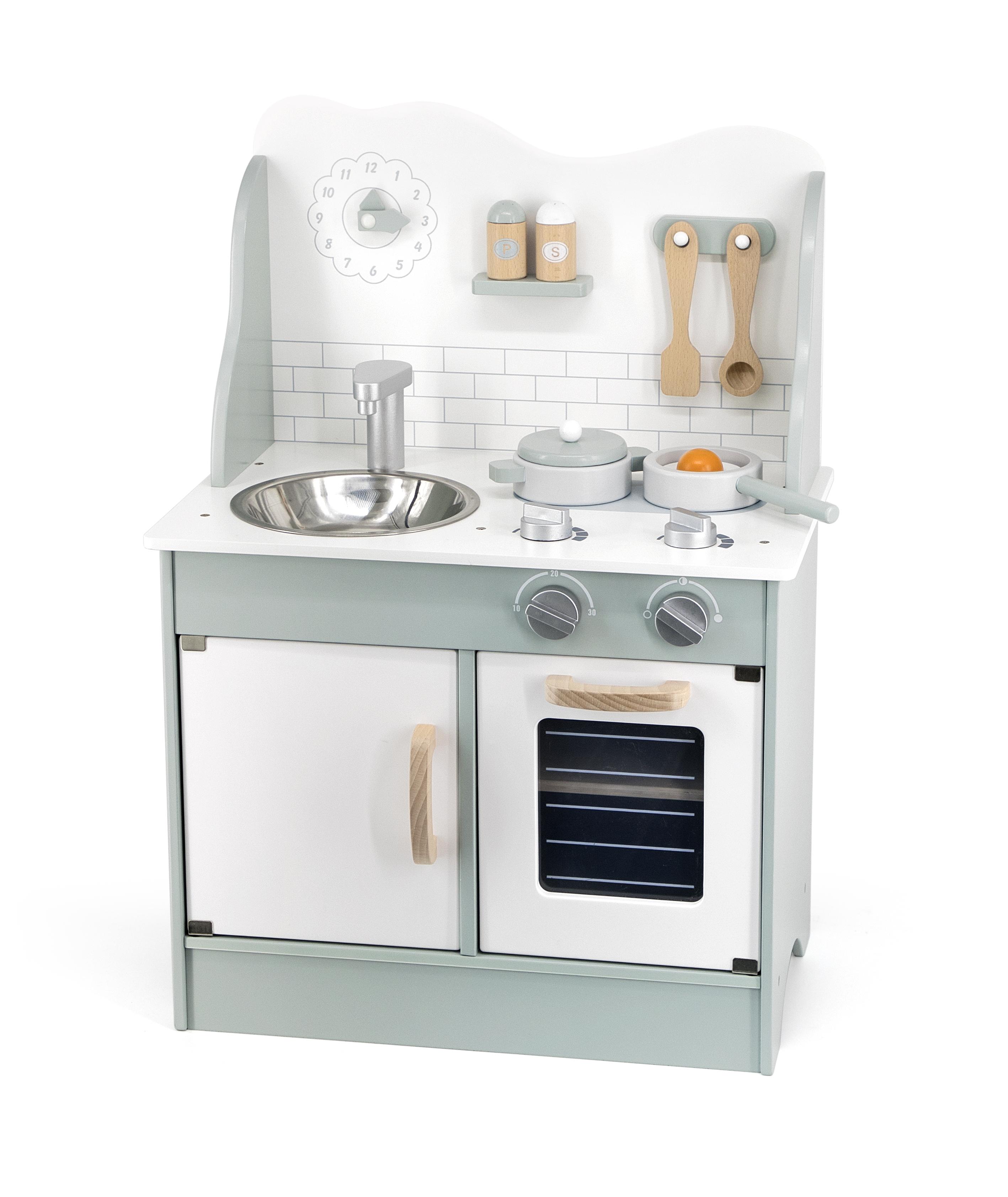 Viga 44048 PolarB roheline köök aksessuaaridega
