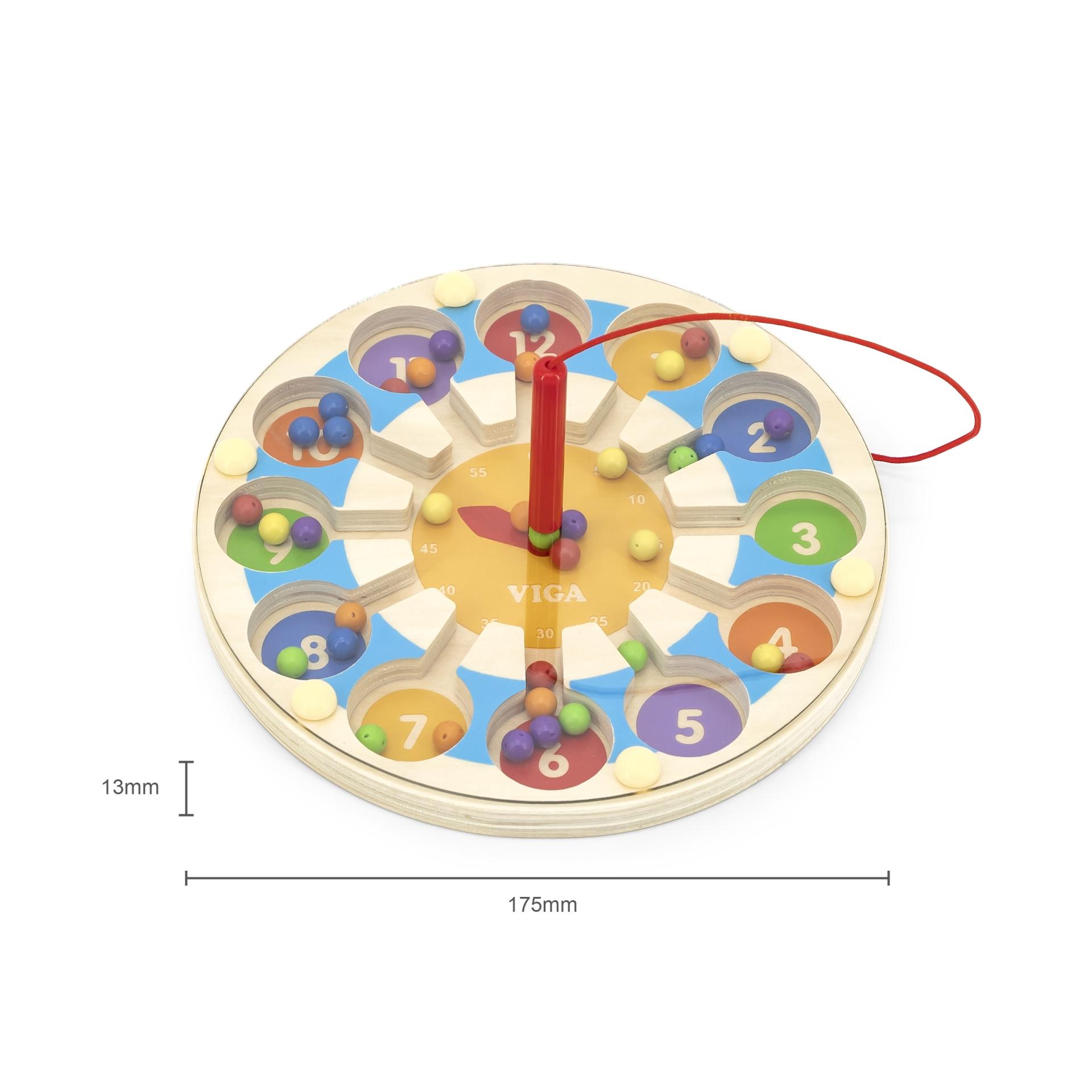 Magneetiline mäng - kell
