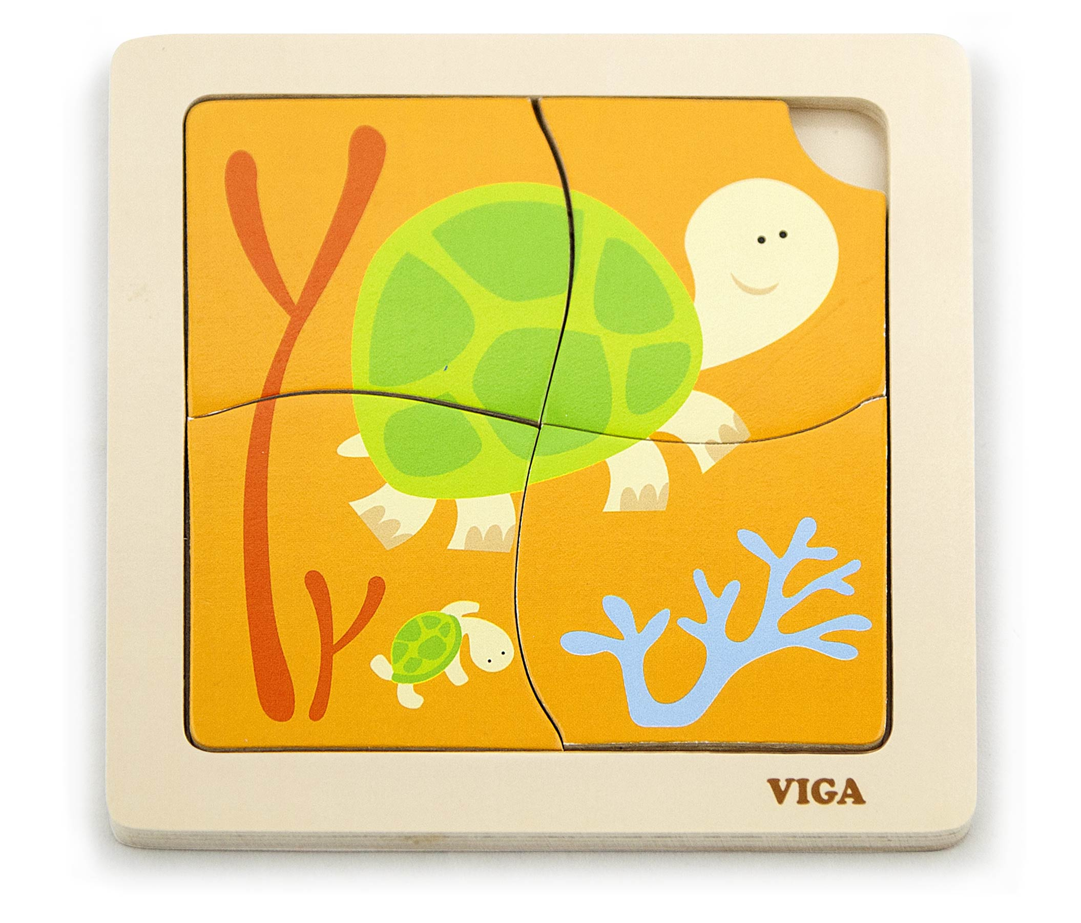 Viga 50143 Puzzle - Kilpkonn
