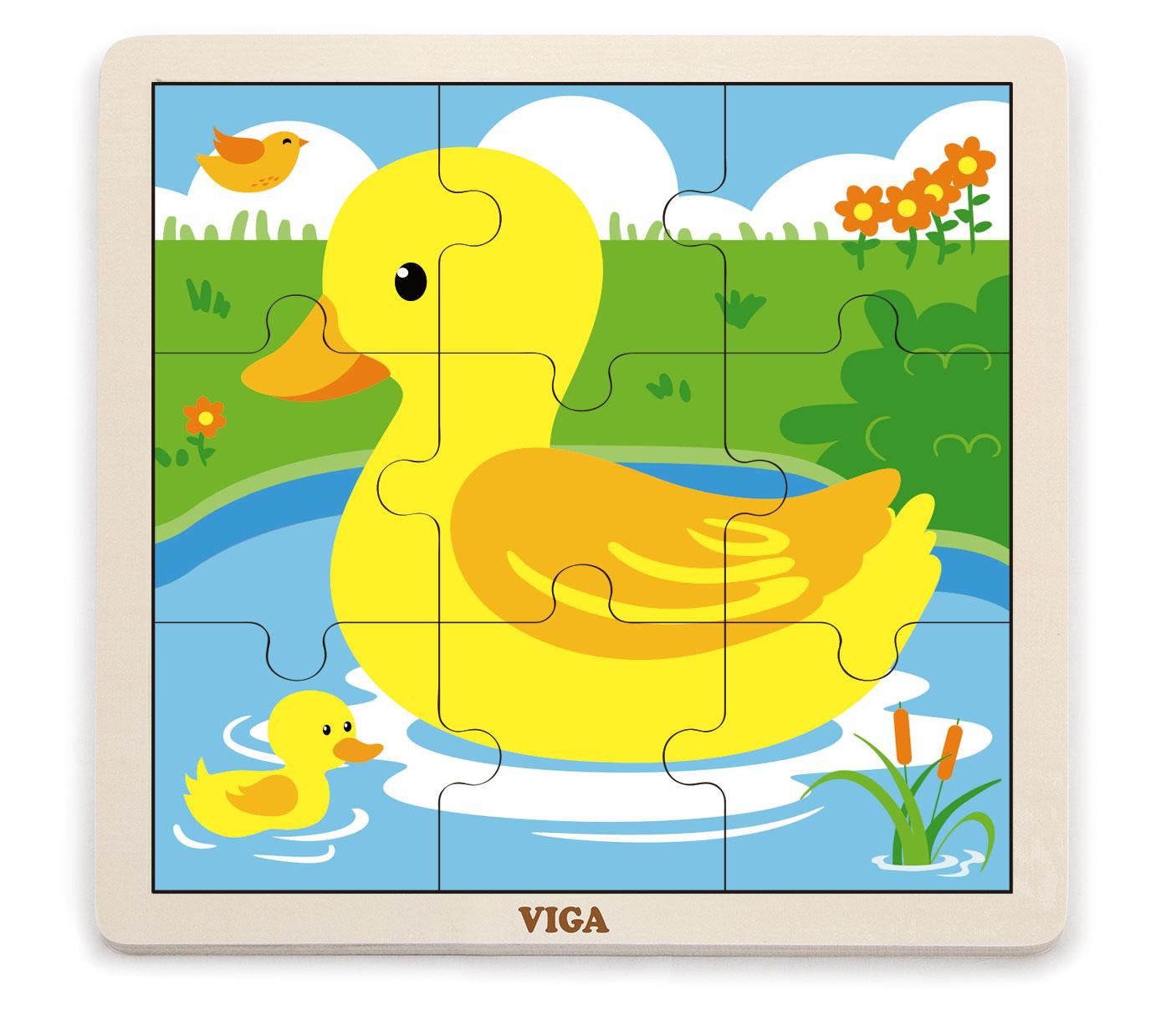 Viga 51436 Puzzle 9 osaline - pardipojad