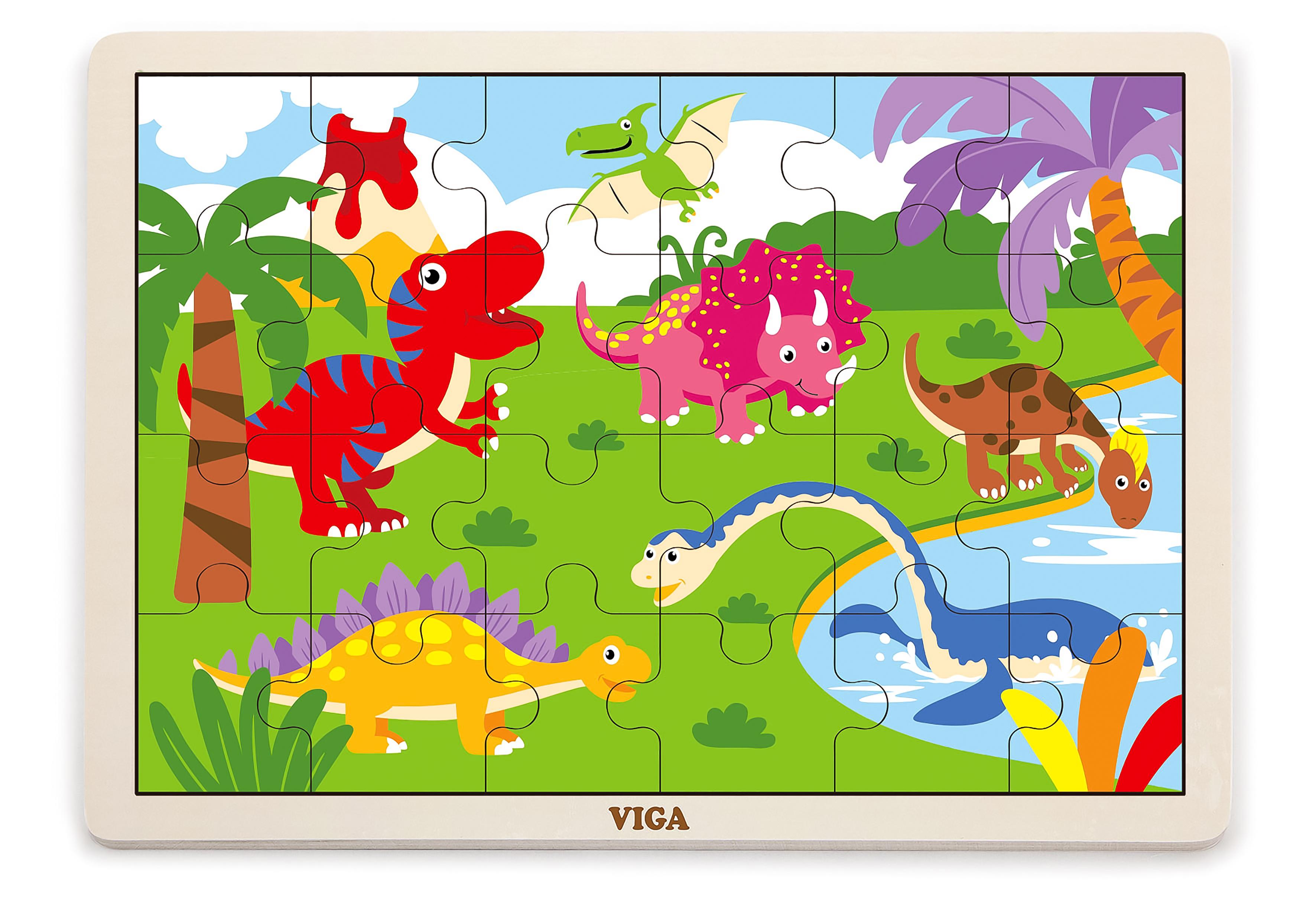 Viga 51460 Puzzle 24 osa - dinosaurused