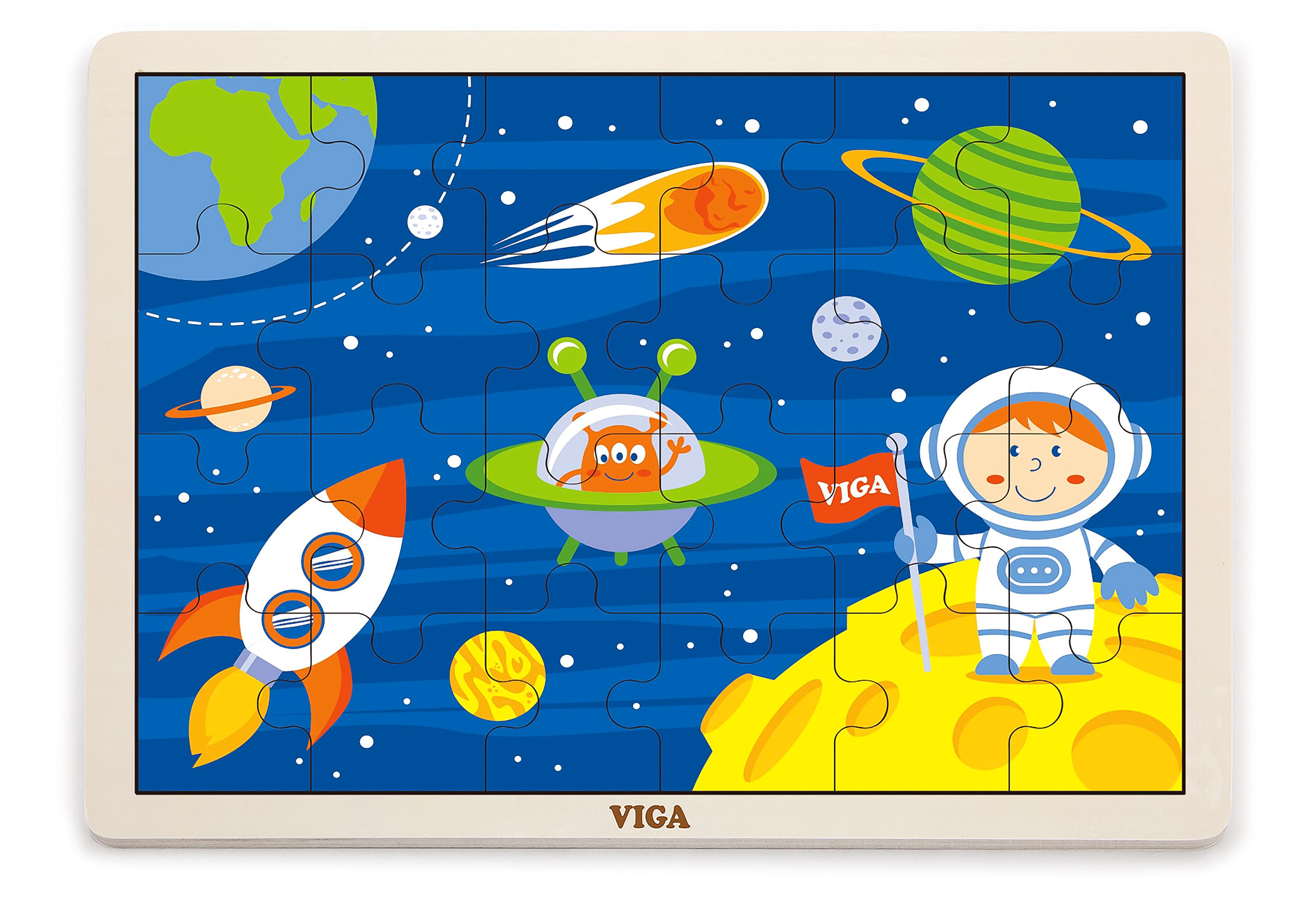 Viga 51461  Puzzle 24 osa - kosmos