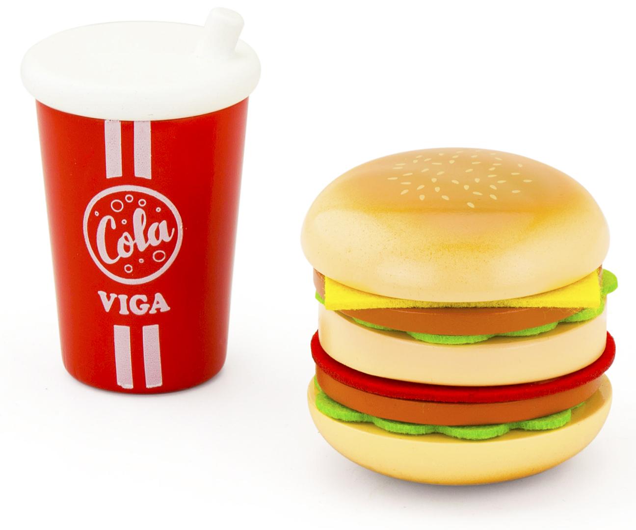 Viga 51602 Hamburgeri ja Cola komplekt