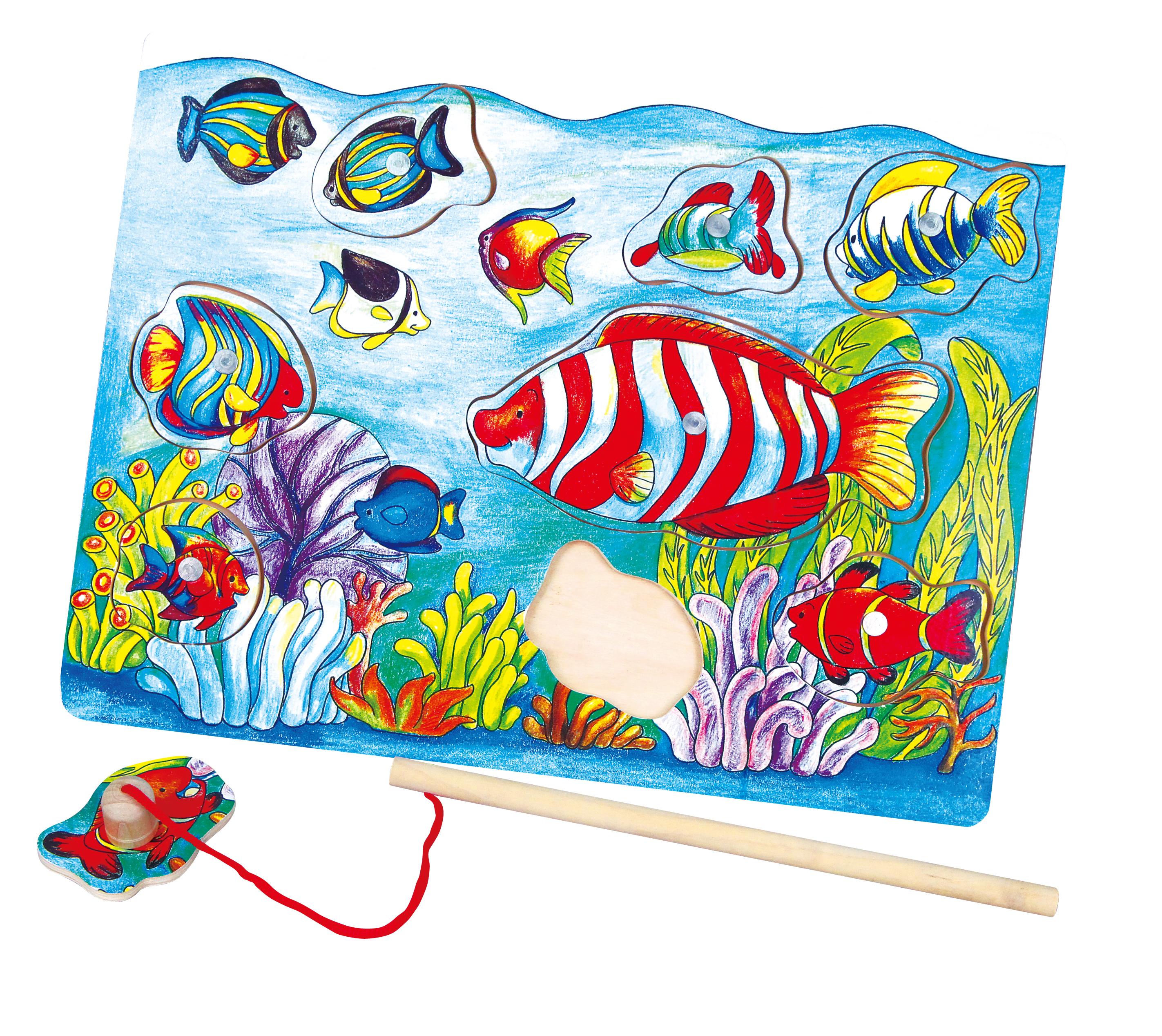 Viga 58423 Magneetiline puzzle - kalapüük