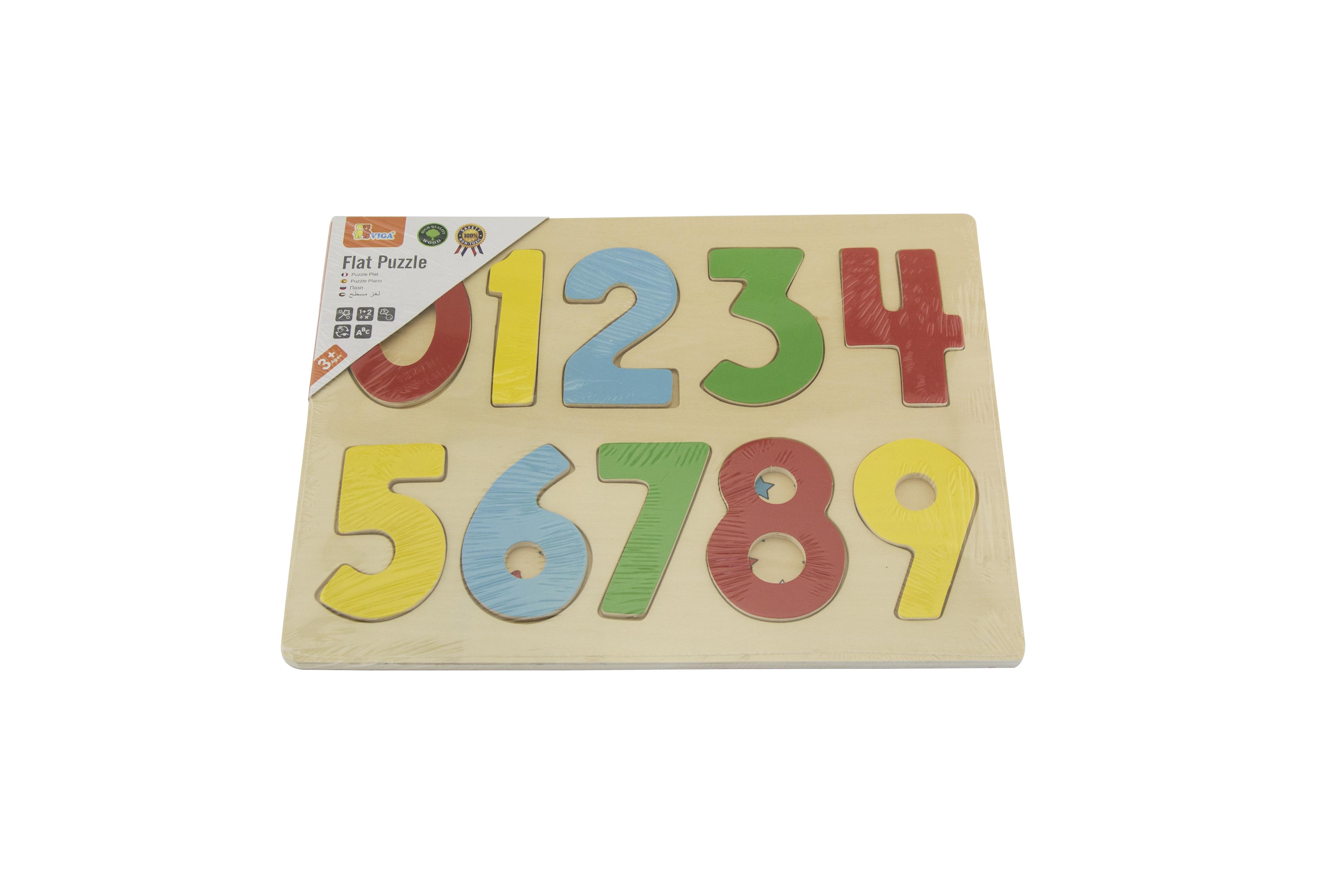 Viga 58545 puzzle - numbrid (laos)