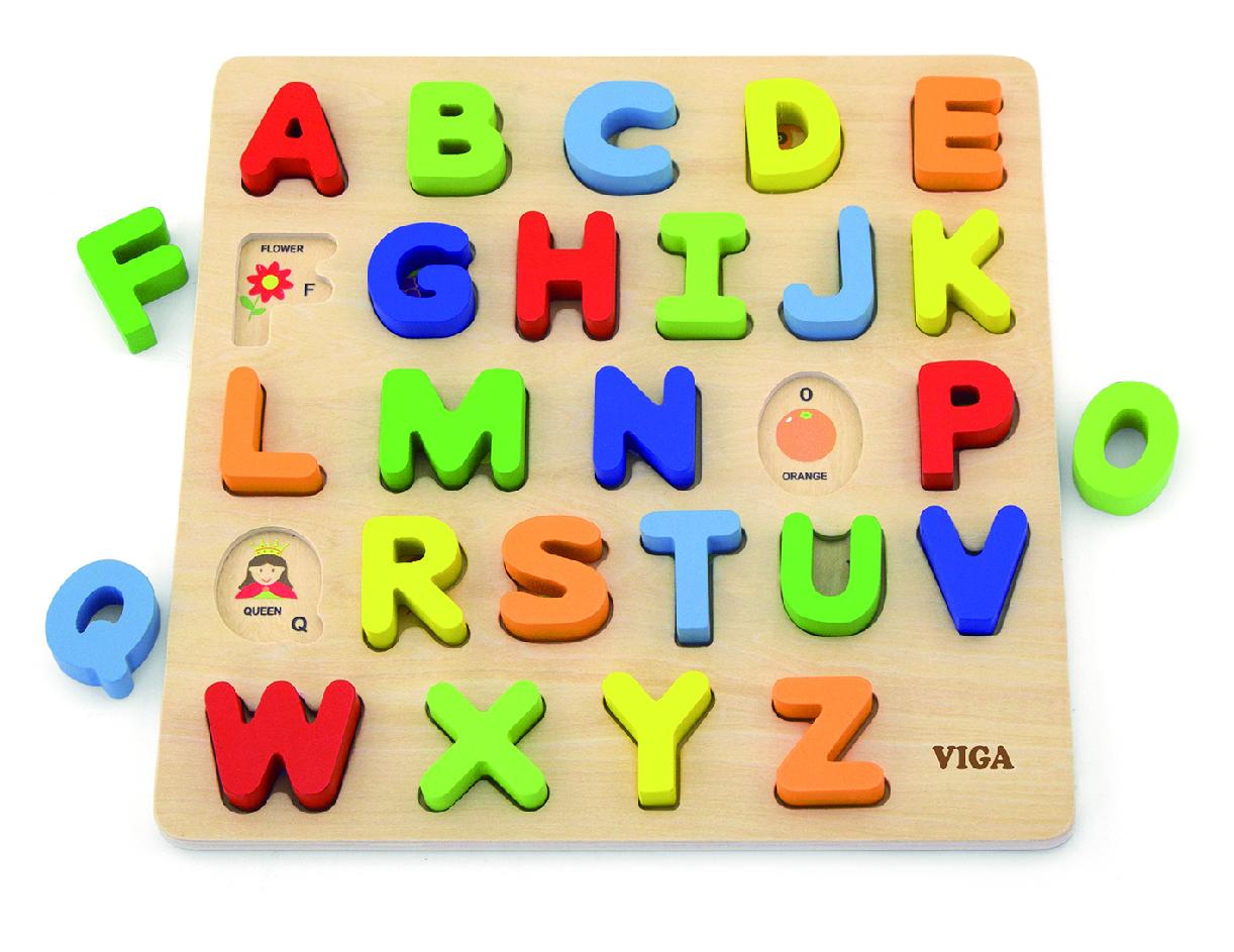 Viga 50124 Tähestiku puzzle