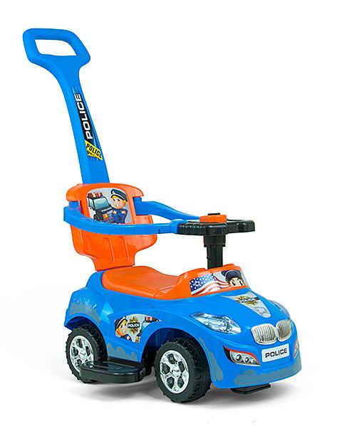 Pealeistutav sõiduk Happy Blue-Orange