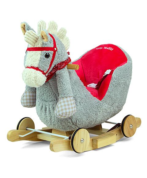 Kiikhobune Polly - Punane hobune