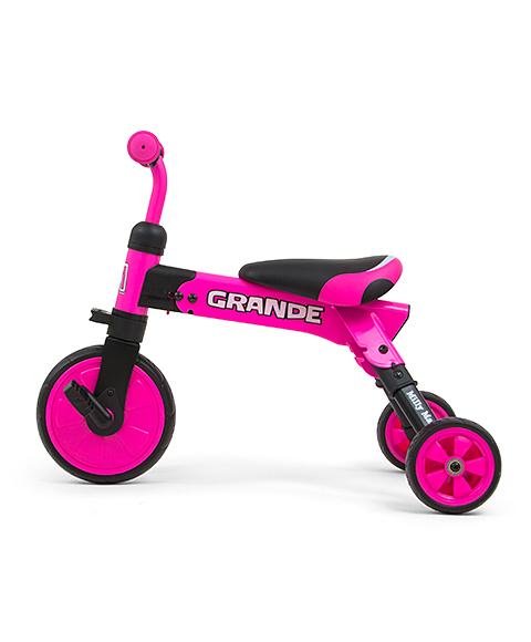 Milly Mally pealeistutav sõiduk – Bike kaks ühes GRANDE Pink