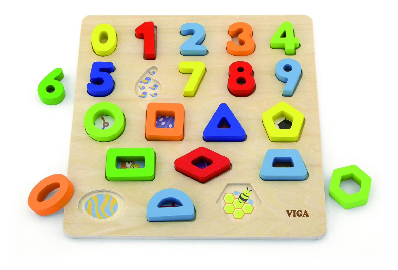 Viga 50119 Puzzle numbrite ja diagrammidega