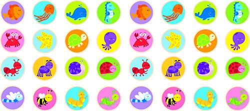 Viga 50126 Memo mäng - Loomad