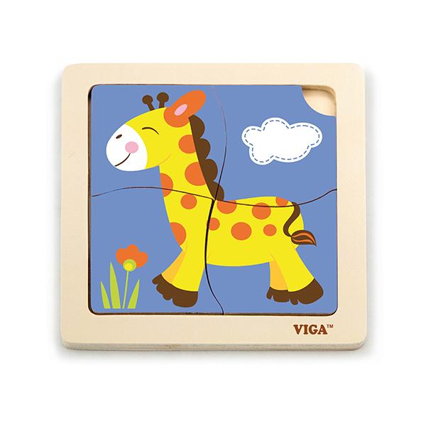 Viga 51319 Esimene puzzle - Kaelkirjak (laos)