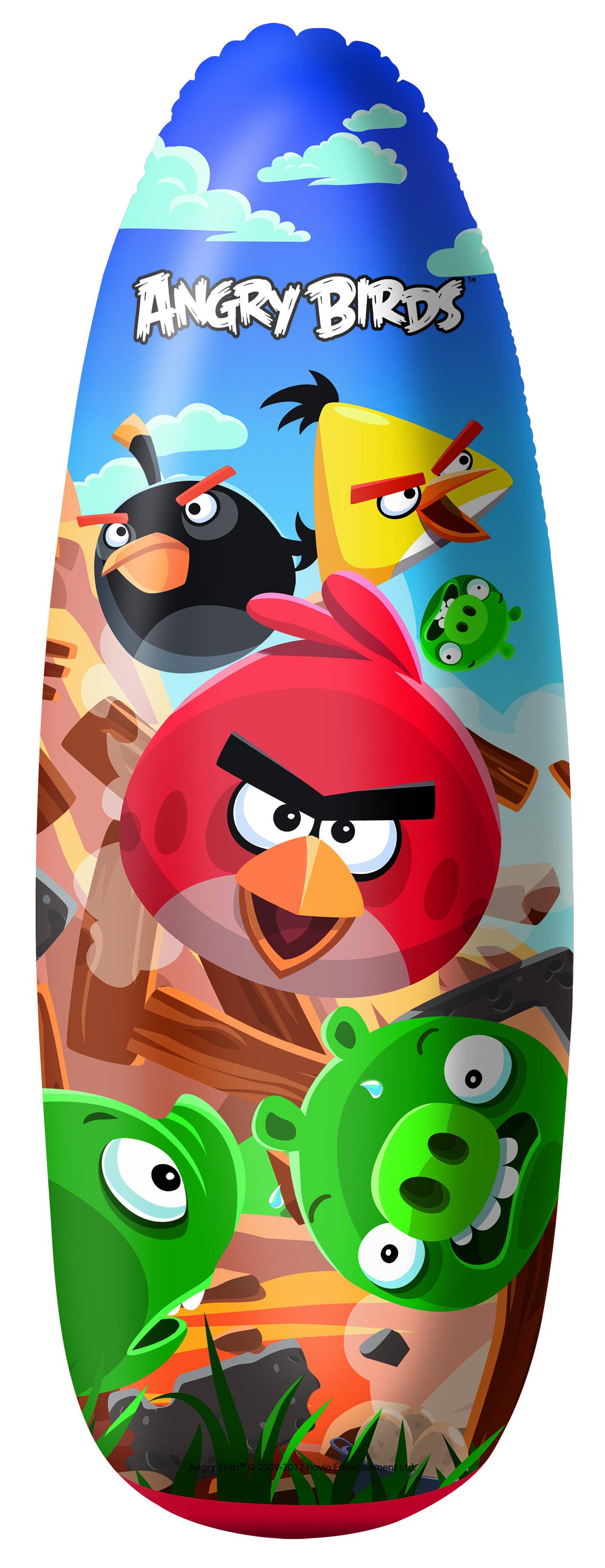 Bestway 96105 WOREK BOKSERSKI ANGRY BIRDS 91cm (51122, Bestway)