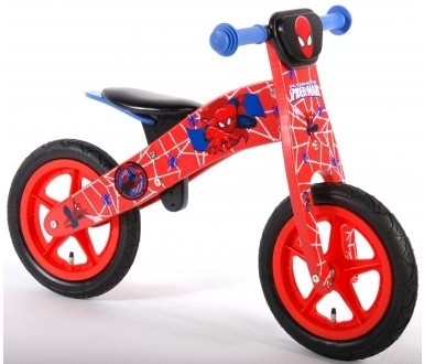 E&L Cycles K-553 Rowerek Biegowy Spiderman (0563, E&L Cycles)