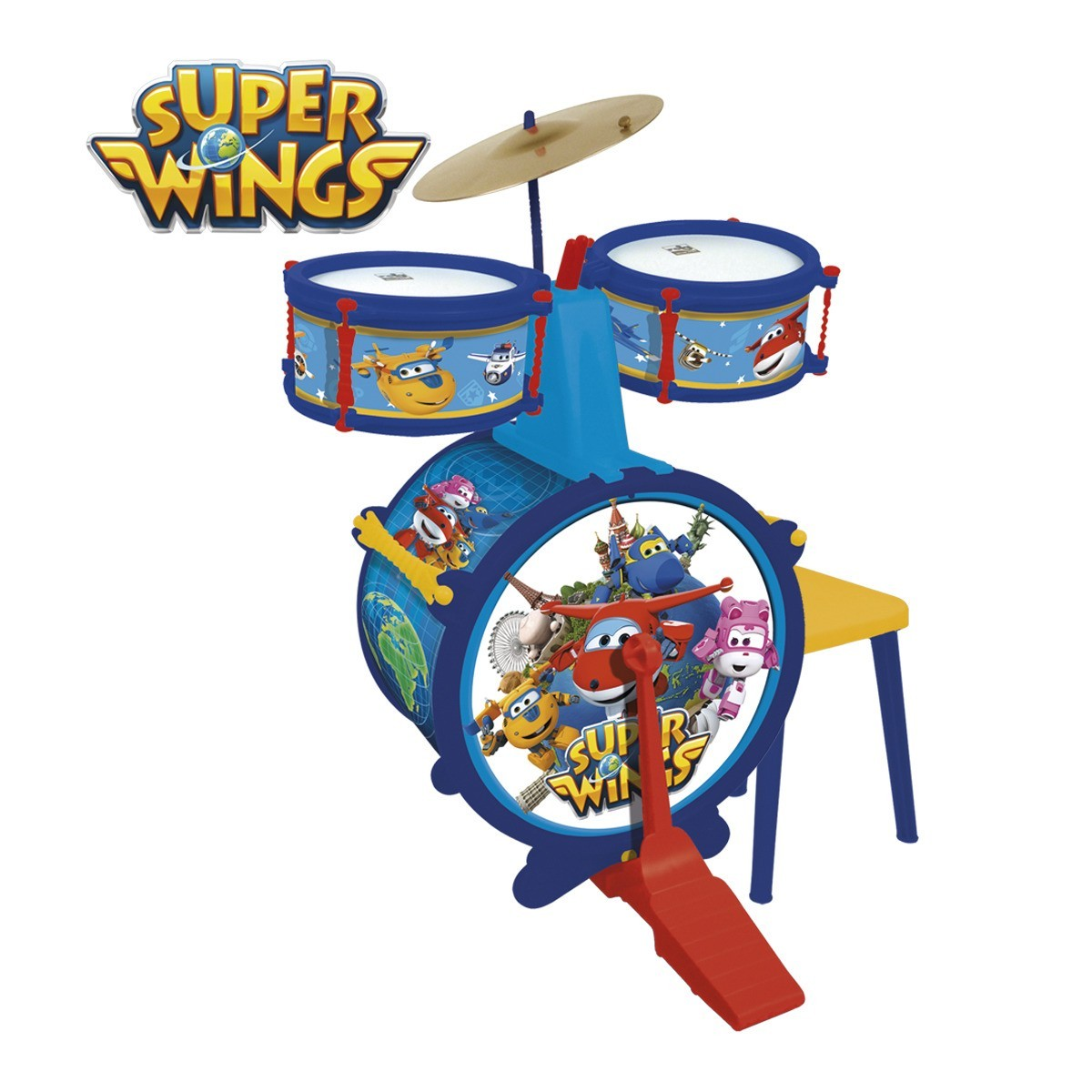 REIG 2111 Super Wings perkusja