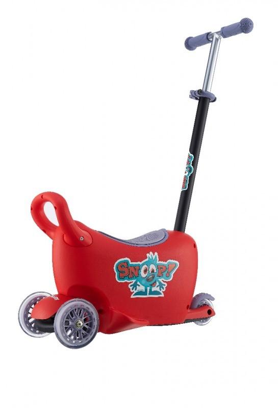 Jeździk SNOOP! 3w1 RED