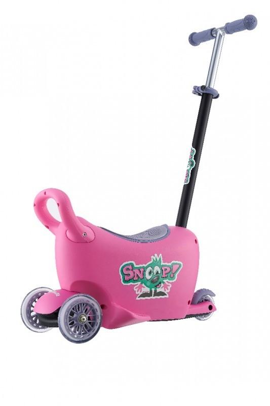 Jeździk SNOOP! 3w1 PINK
