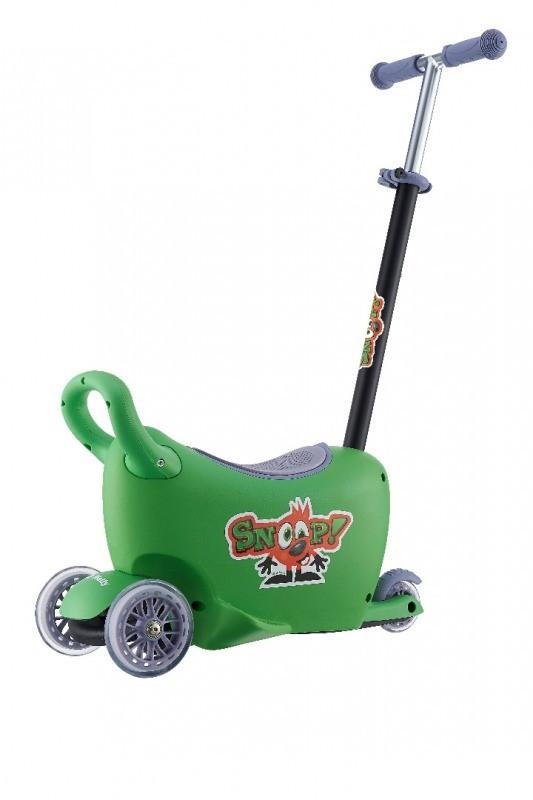 Jeździk SNOOP! 3w1 GREEN