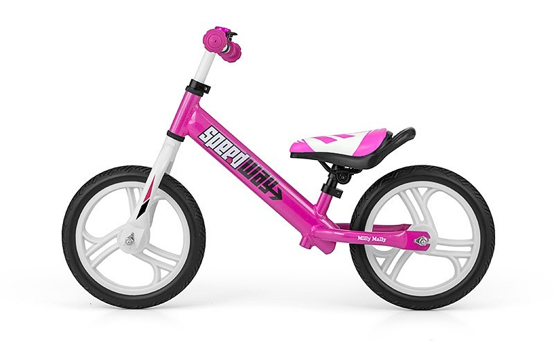 Rowerek Biegowy Speedway Alu. Pink