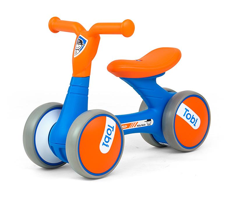 Pealeistutav sõiduk Tobi Blue-Orange