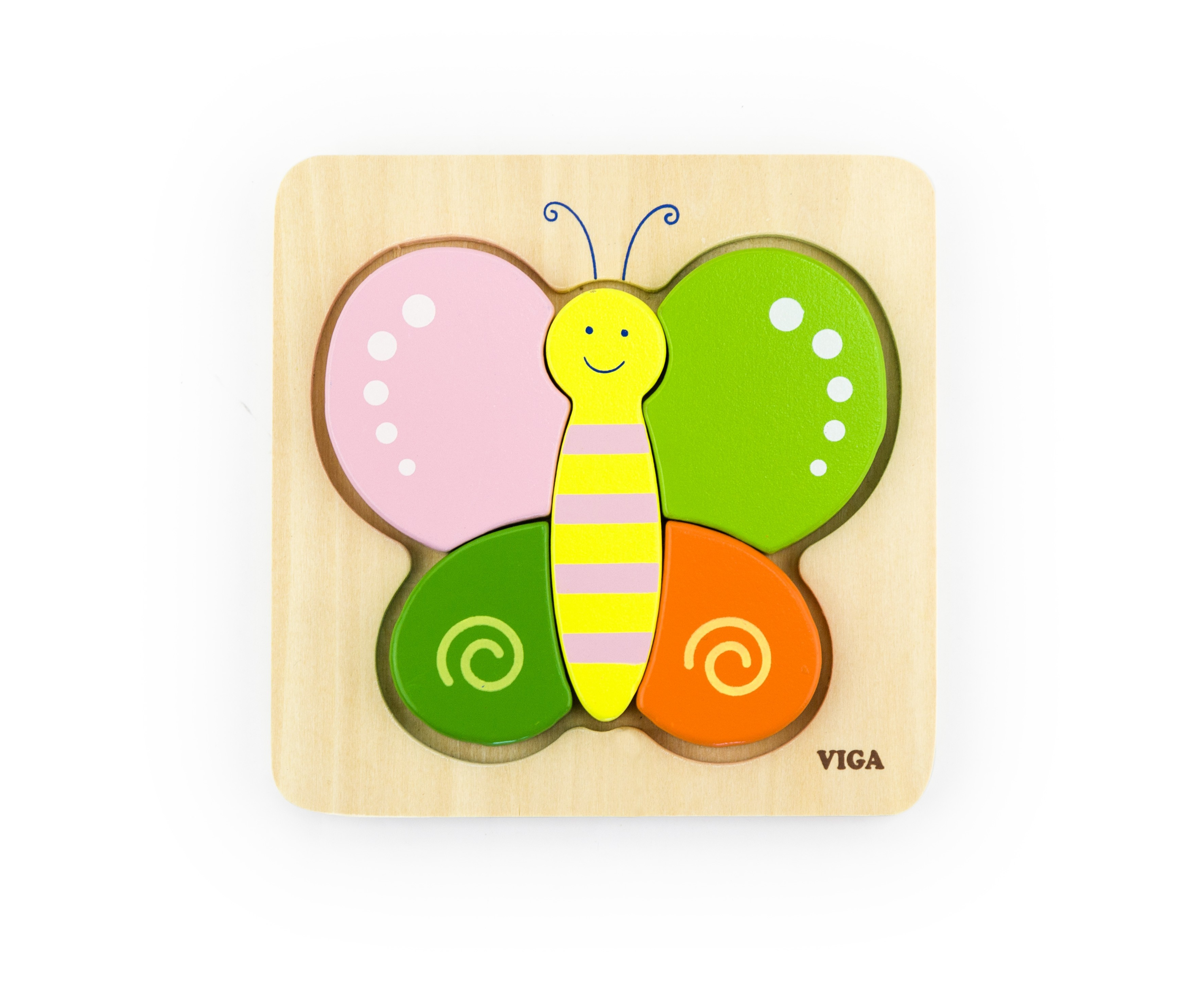 Viga 50170 Esimene puzzle - Liblikas (laos)