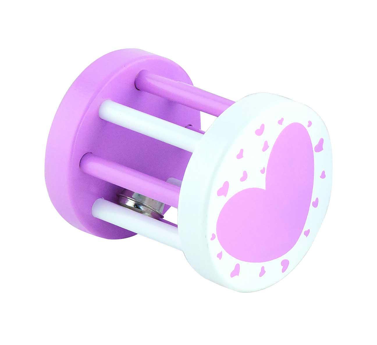 Viga 50396 Grzechotka sensoryczna - dzwoneczek różowy (box)