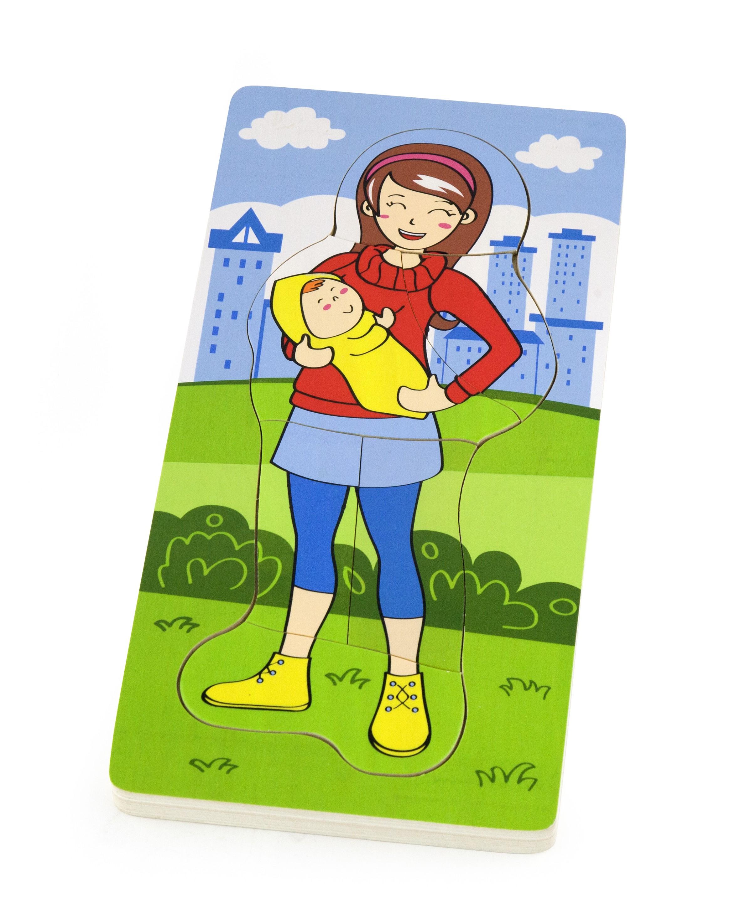Viga 50405 Puzzle ema lapsega