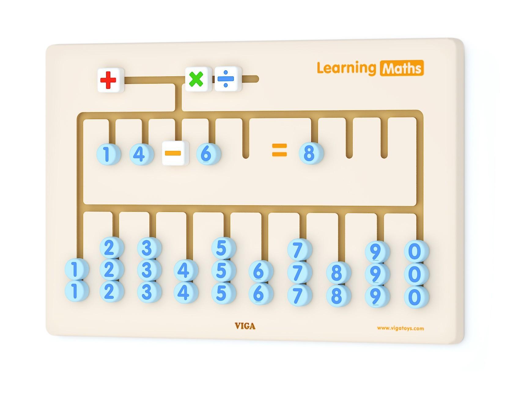 Viga 50675 Tegevuskeskus - Õppime matemaatikat