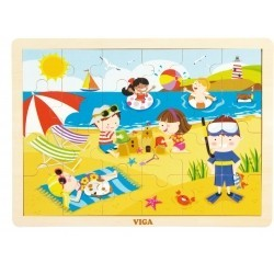 VIGA 51270 PUZZLE CZTERY PORY ROKU-LATO
