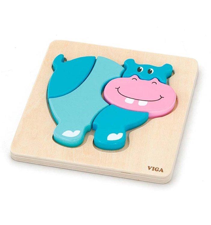 Viga 59932 Beebi esimene puzzle - Jõehobu (laos)